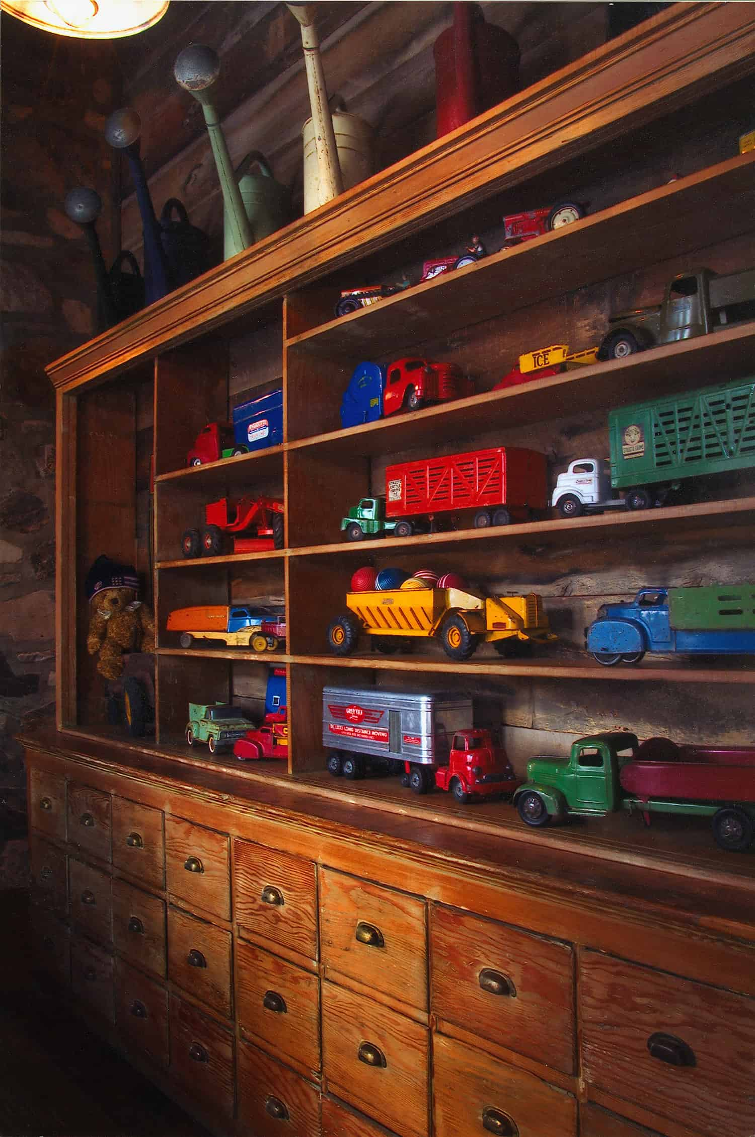 rustic-toy-wall