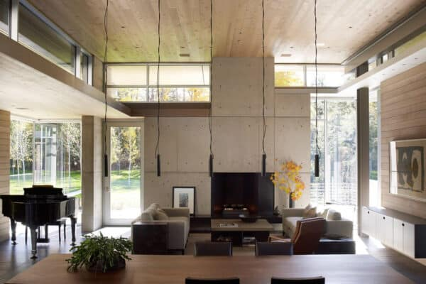 featured posts image for Striking light-filled home in the wilderness of Michigan's Upper Peninsula