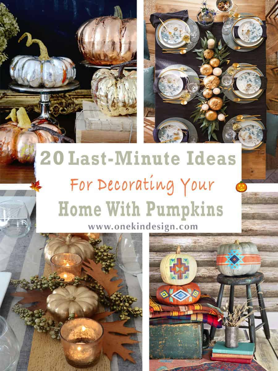 DIY-Ideas-For-Decorating-Your-Home-With-Pumpkins