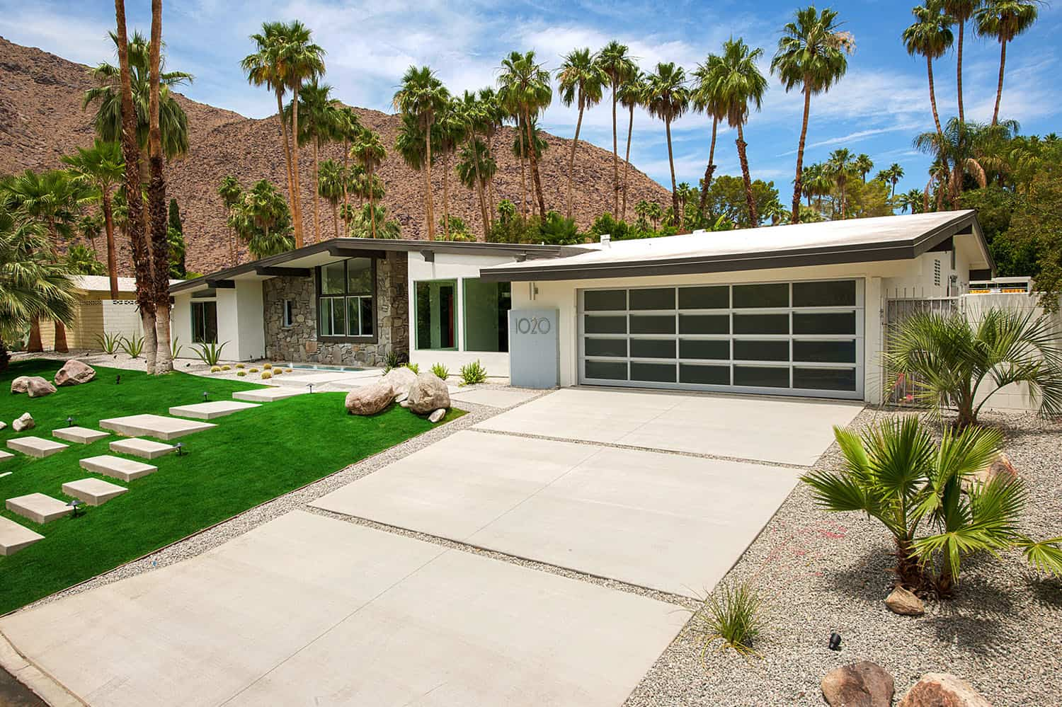 Midcentury ranch home gets a spectacular renovation in Palm Springs