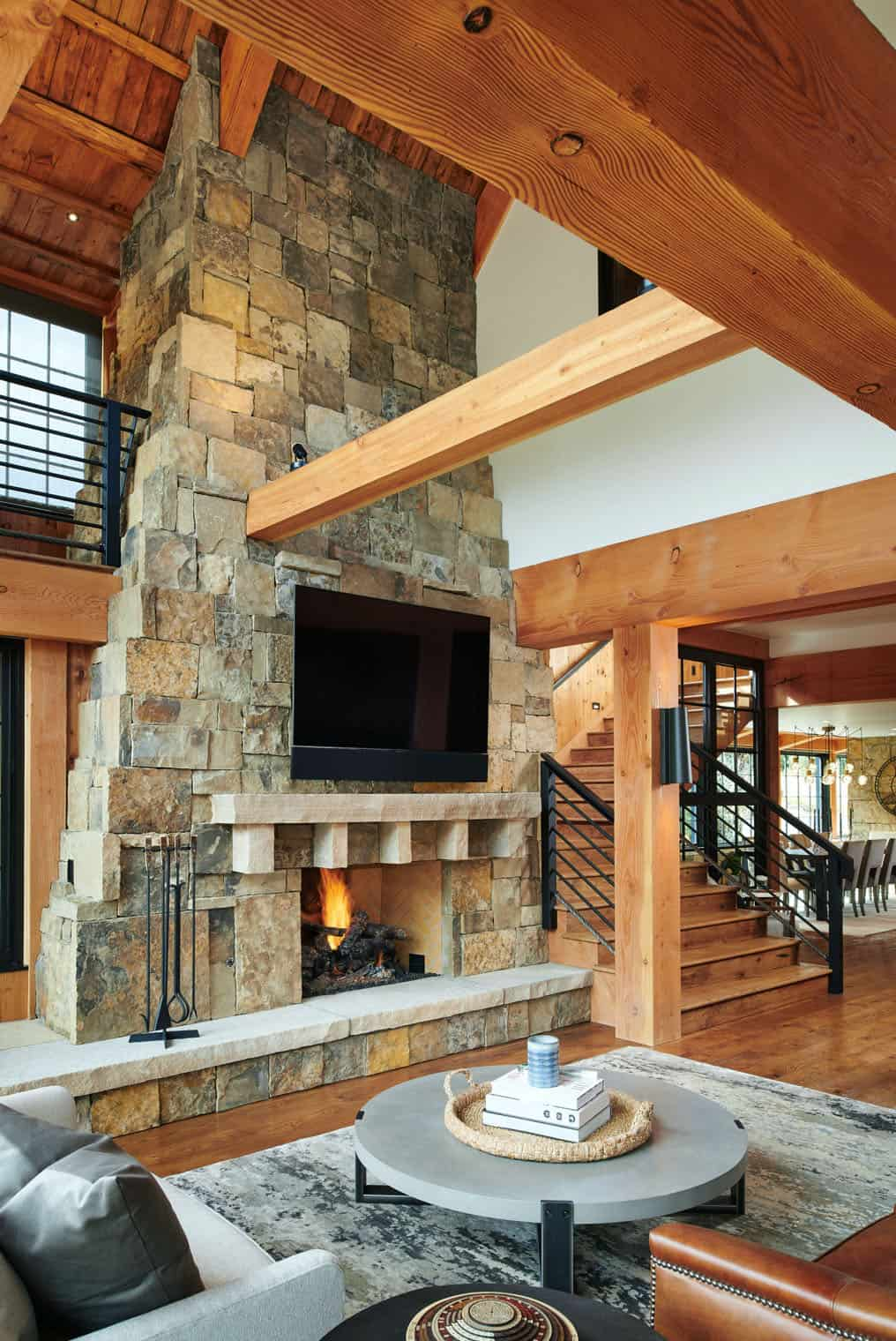 rustic-barn-inspired-home-living-room-fireplace