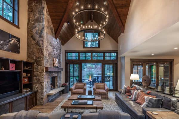 featured posts image for Modern-rustic getaway designed for relaxation in Sierra Nevada mountains