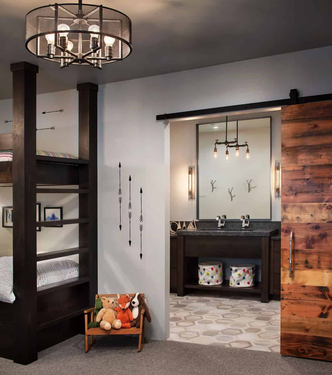 mountain-modern-rustic-kids-bunk-bedroom