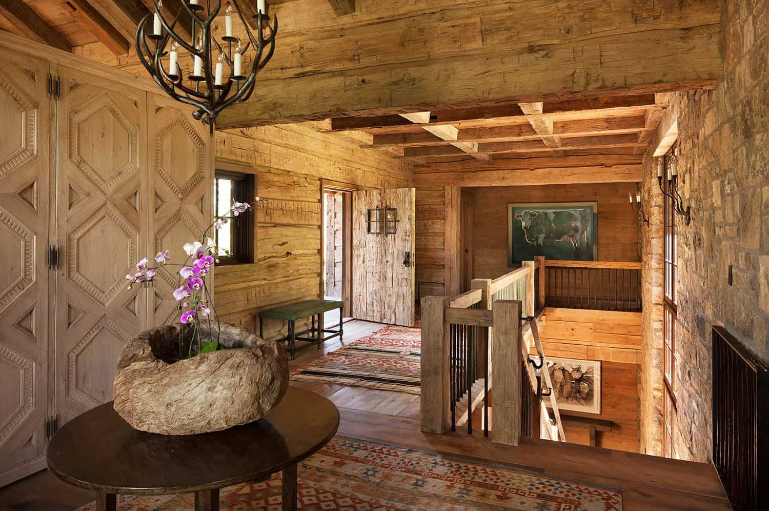 rustic-house-entry
