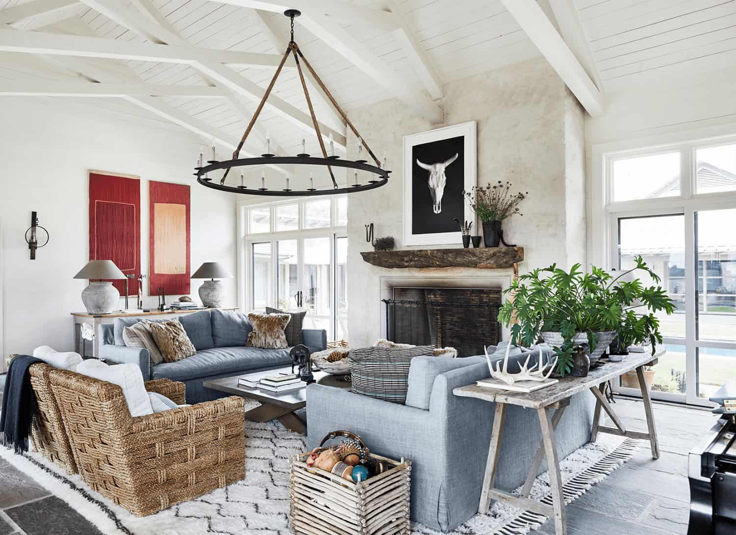 Tour an absolutely stunning farmhouse renovation in the Texas countryside