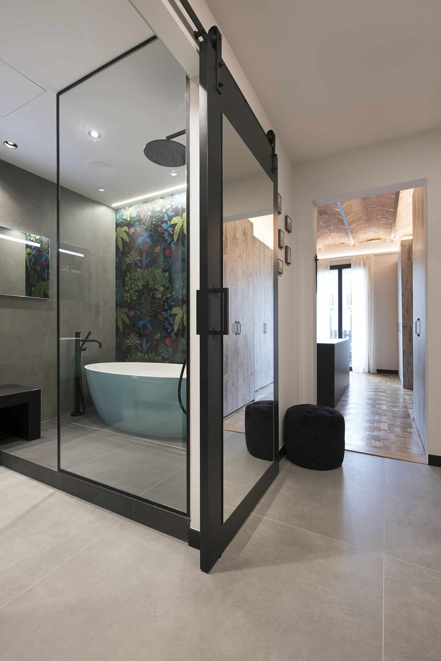 contemporary-industrial-bathroom