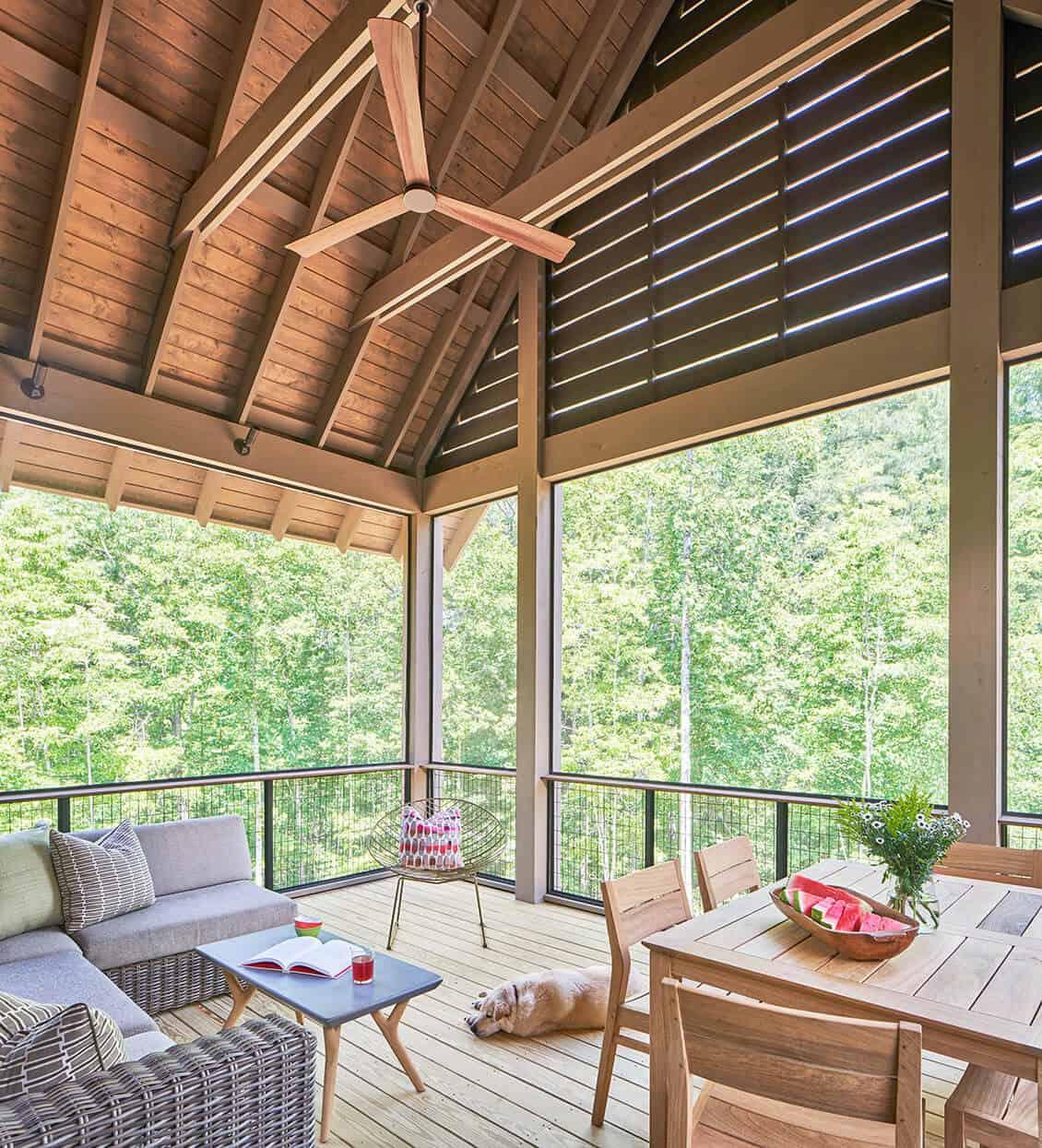 Cabin-Sunroom