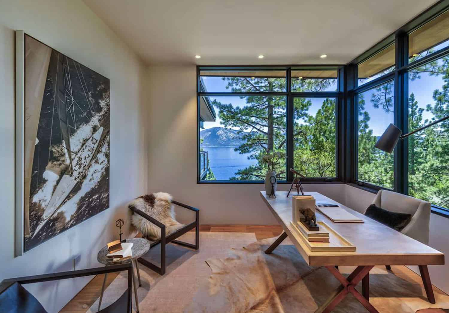 luxury-lakefront-mountain-home-office