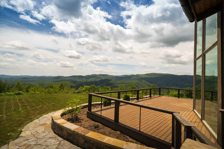 luxury-mountain-home-getaway-rustic-exterior-deck