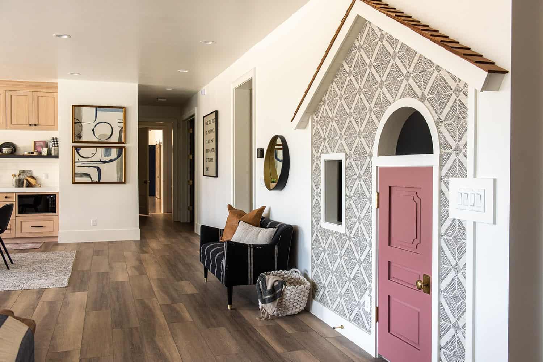transitional-basement-family-room