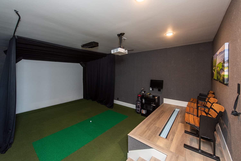 transitional-golf-simulator-room