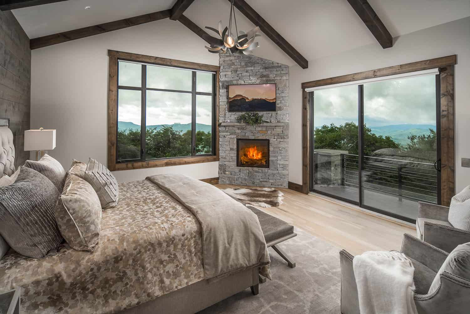 rustic-bedroom-with-fireplace