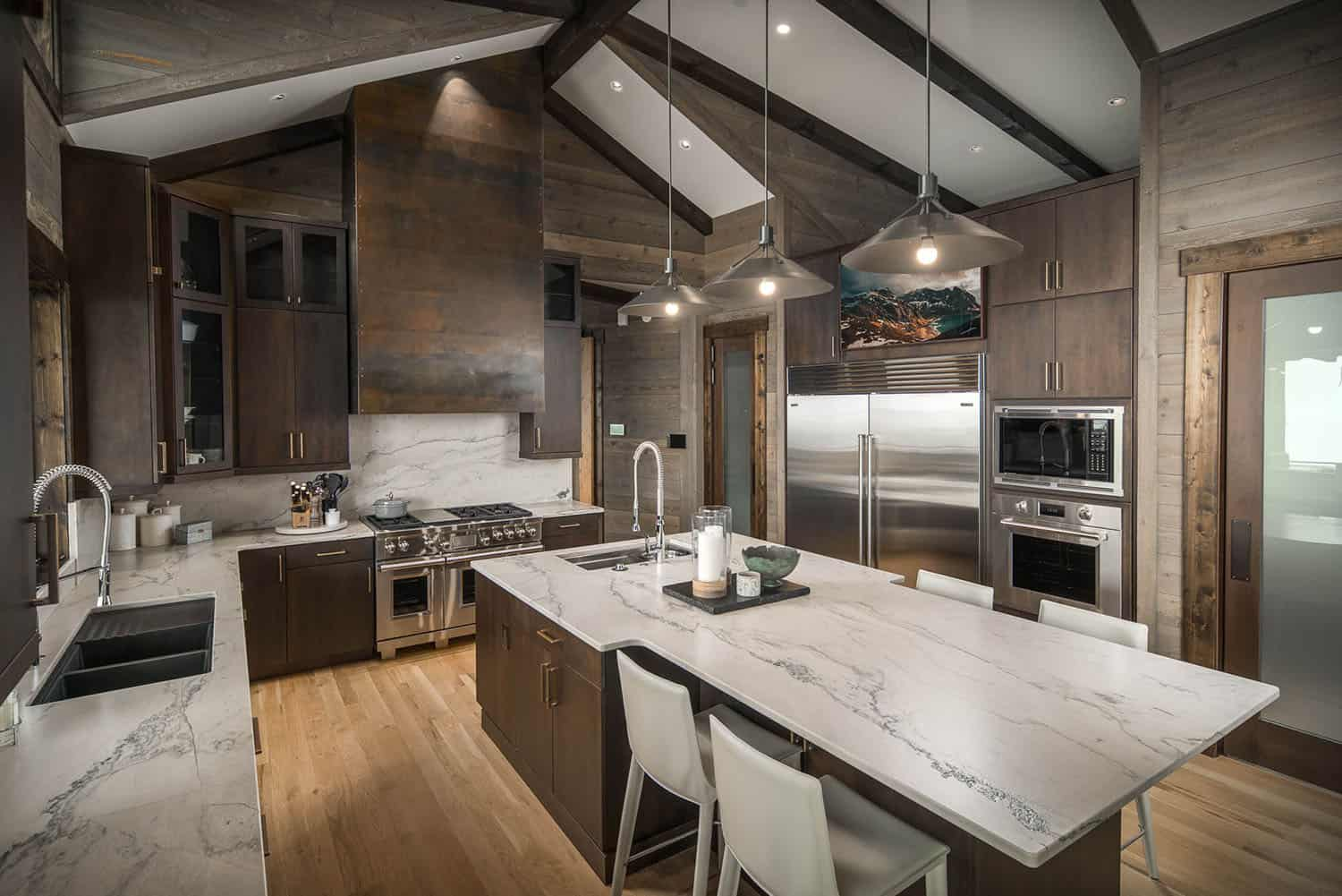 rustic-contemporary-kitchen