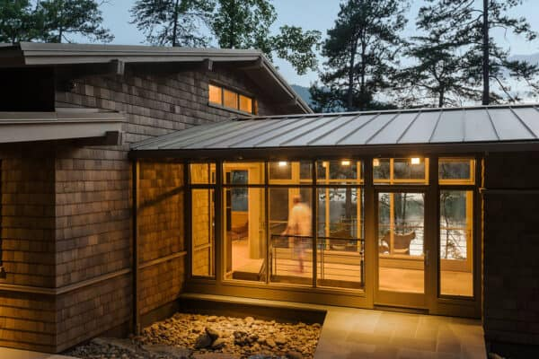 featured posts image for LEED Gold home blends harmoniously in Appalachian mountain setting