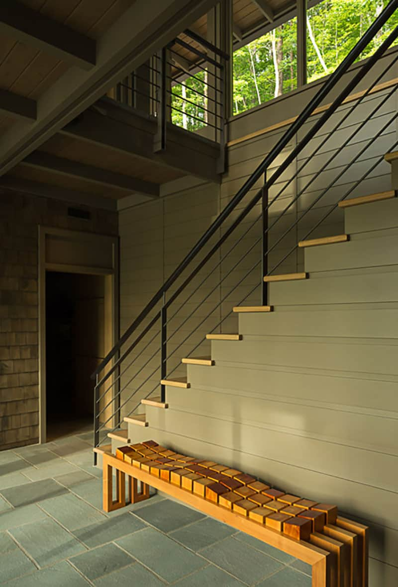 lake-house-modern-staircase-entry
