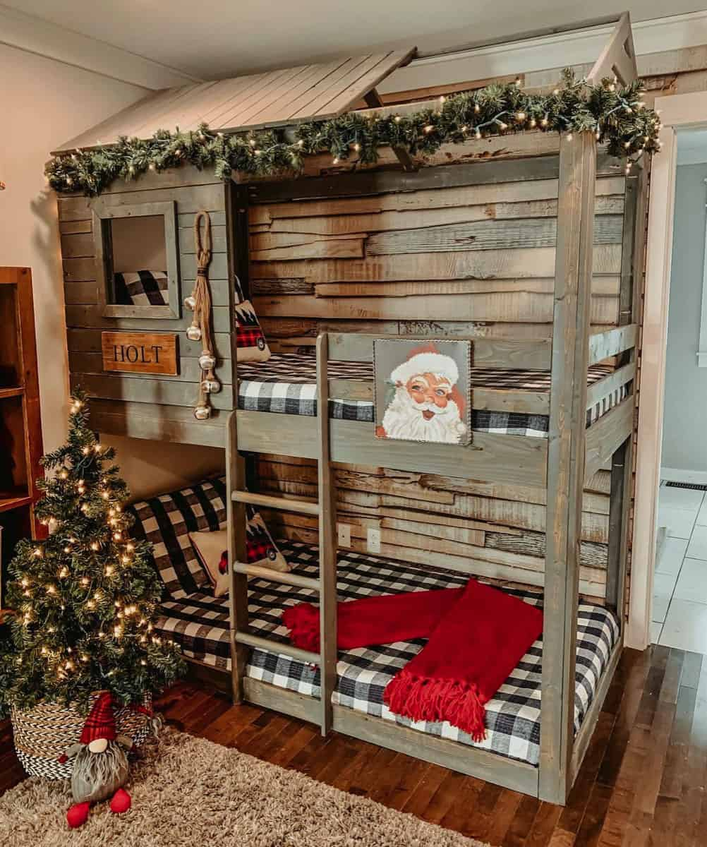 Christmas-Decor-Ideas-Kids-Bunk-Bedroom