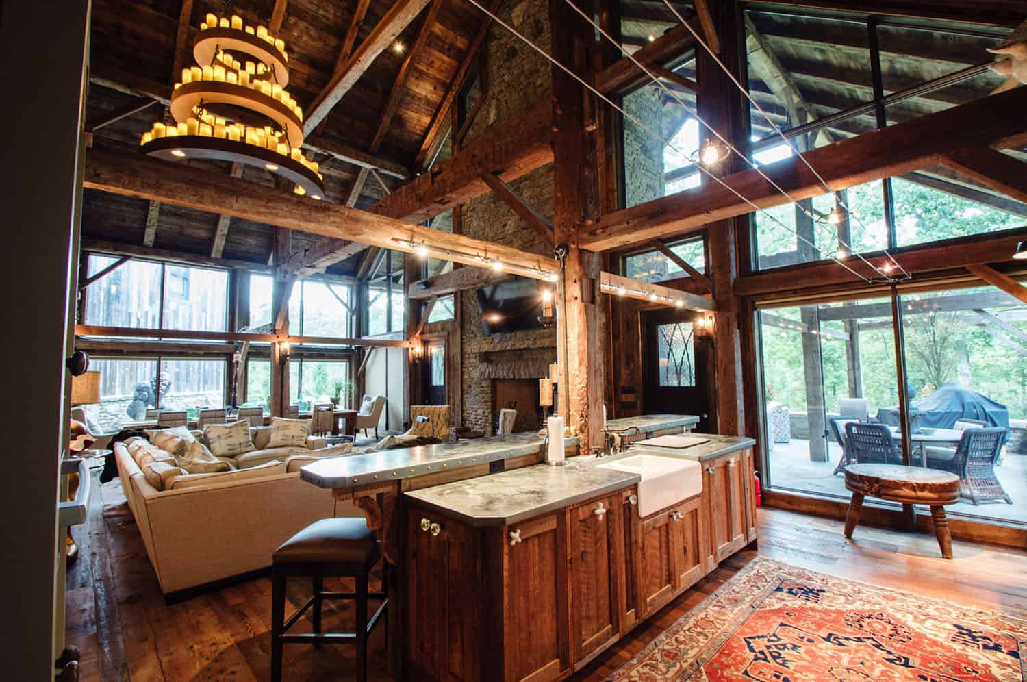 rustic-barn-house-kitchen