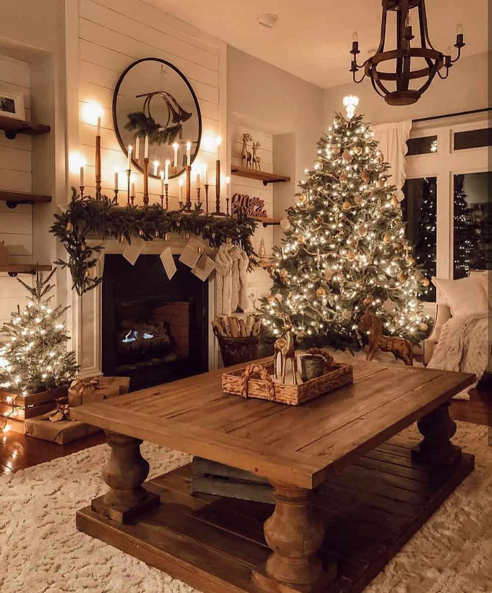 rustic-farmhouse-christmas-decorating-ideas-living-room
