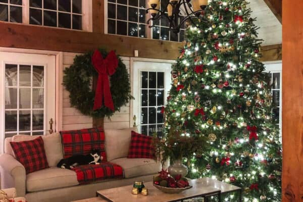 featured posts image for 18 Stunning Ideas For A Very Merry Rustic Farmhouse Christmas