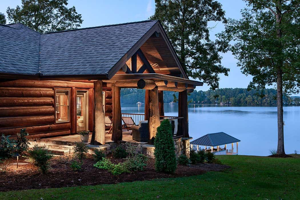 rustic-handcrafted-log-home-porch