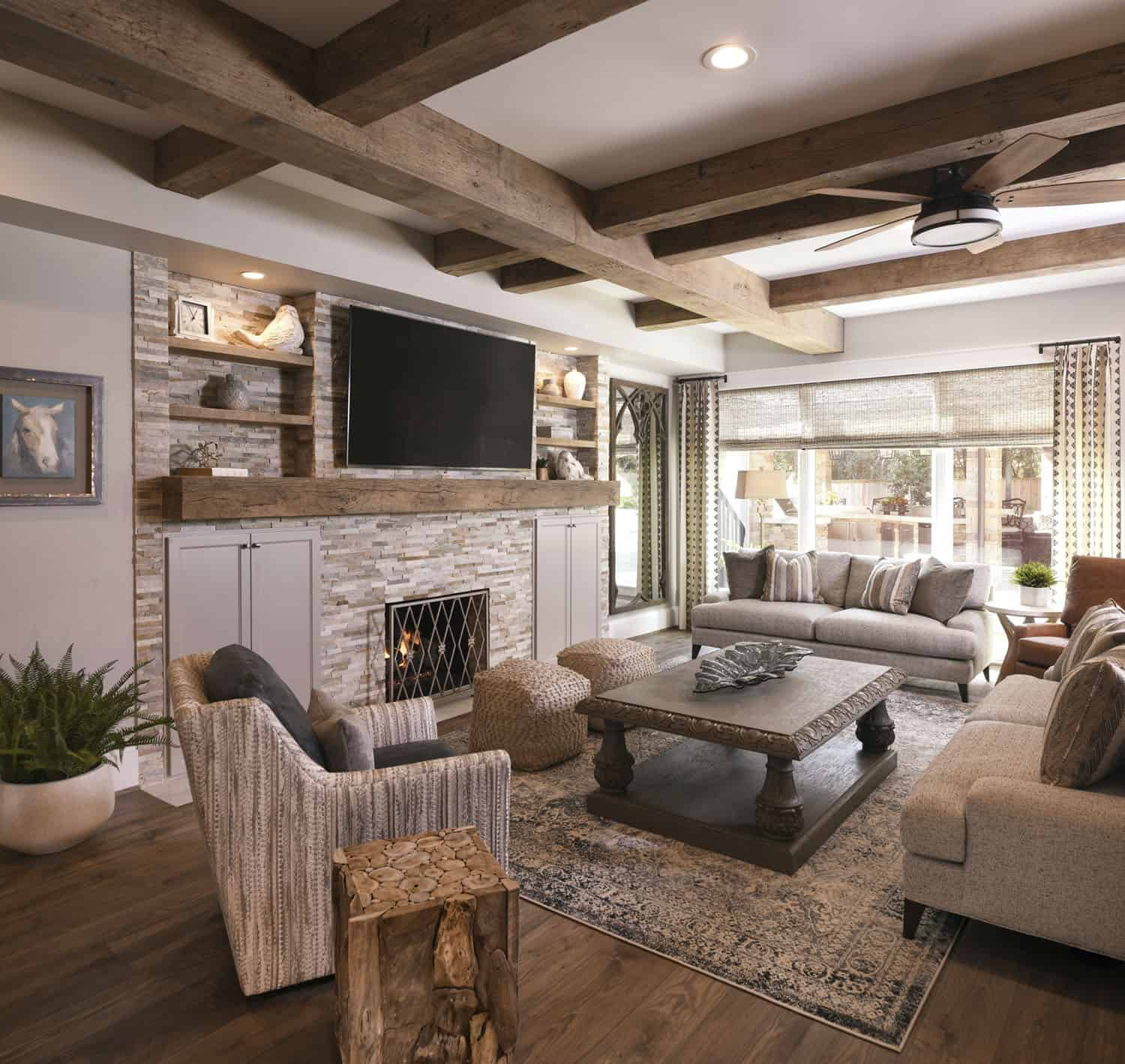 transitional-style-family-room