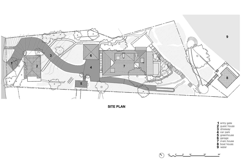 contemporary-japanese-kit-home-site-plan