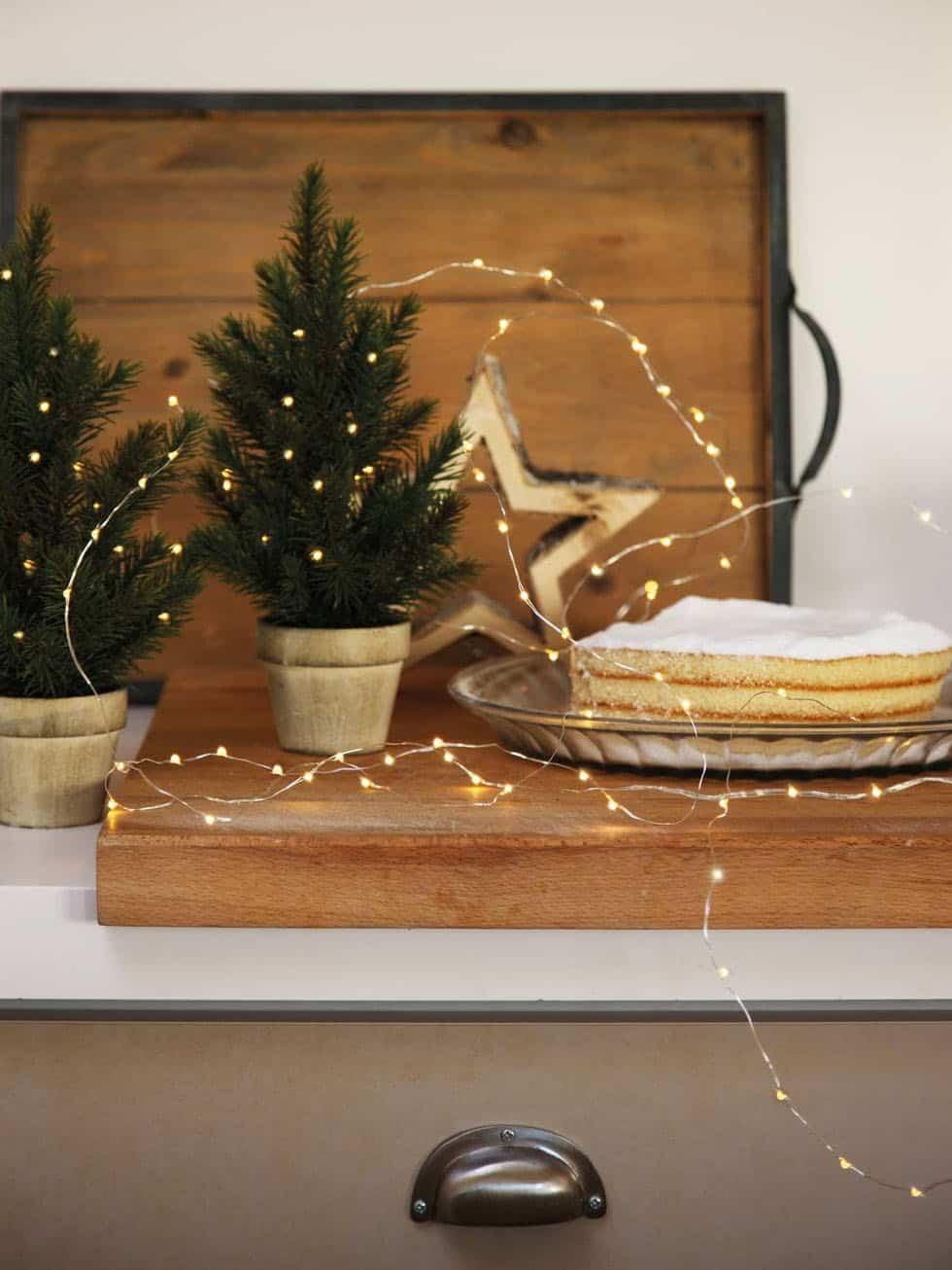 cozy-christmas-decorated-cabin-kitchen-shelf