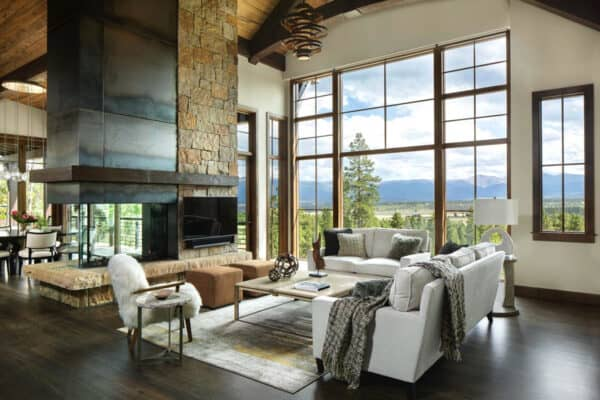 featured posts image for Inviting Craftsman-inspired home overlooking the Continental Divide