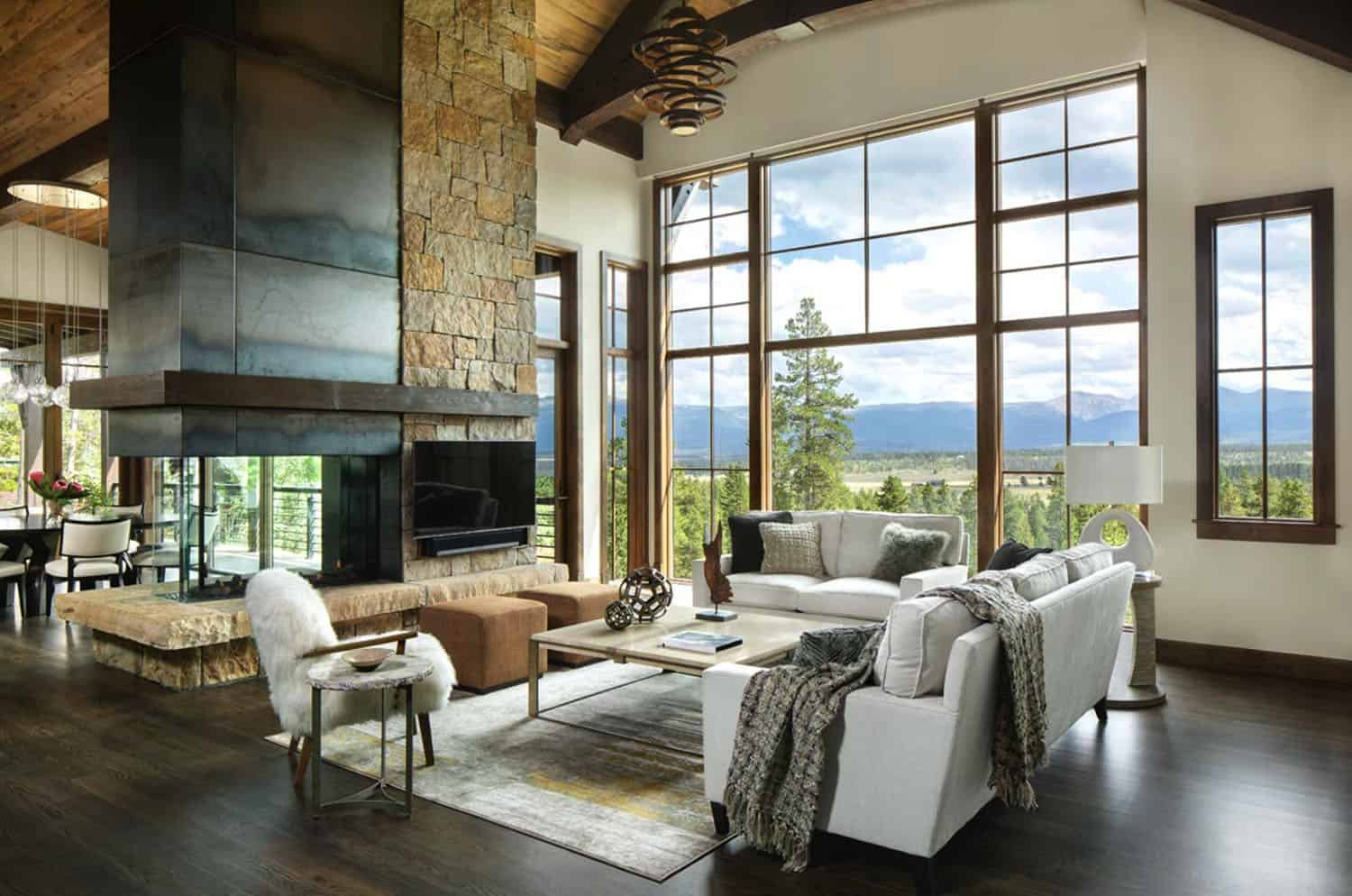 Inviting Craftsman-inspired home overlooking the Continental Divide