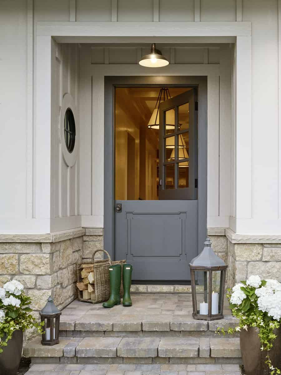 French-country-modern-home-entry