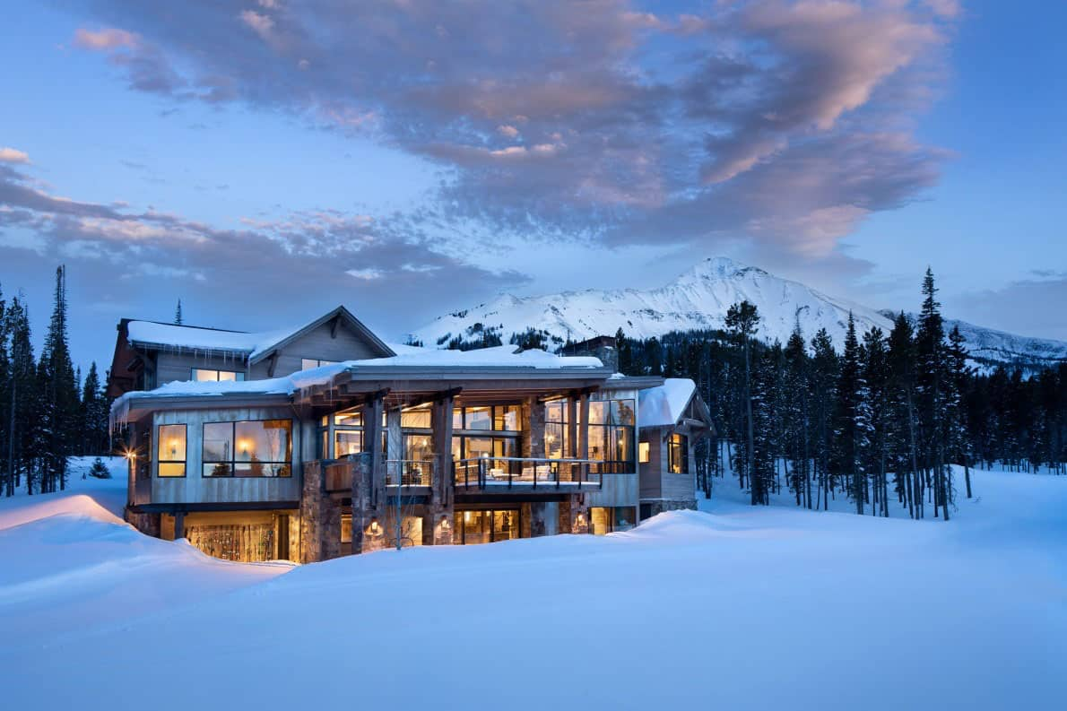 Idyllic mountainside home captures breathtaking views of Big Sky Country