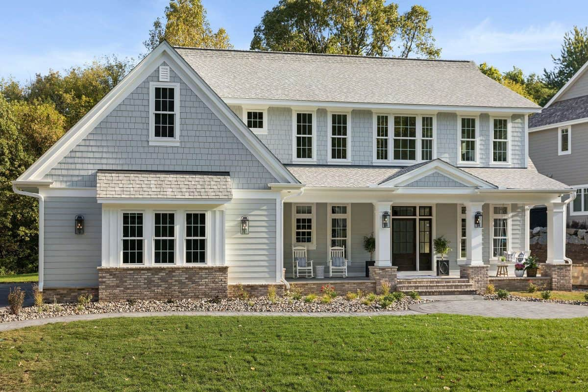 Tour a beautiful English coastal home with traditional styling in Minnesota