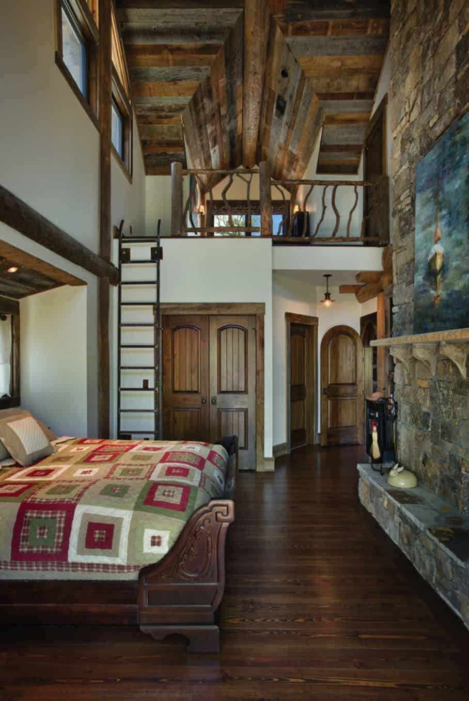 rustic-style-bedroom