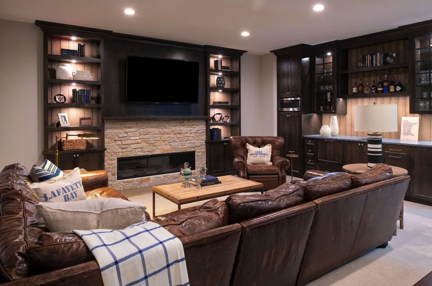 coastal-lake-home-basement-media-room