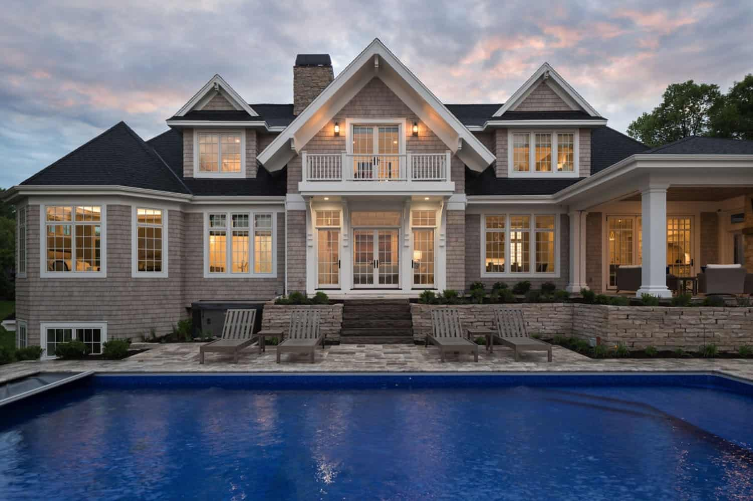 Breathtaking coastal lake home captures views of Lake Minnetonka
