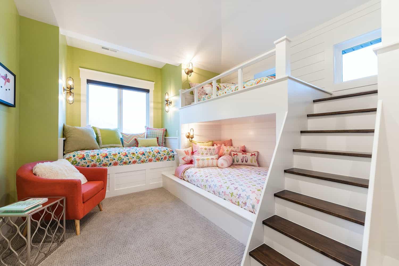 craftsman-kids-bunk-bedroom