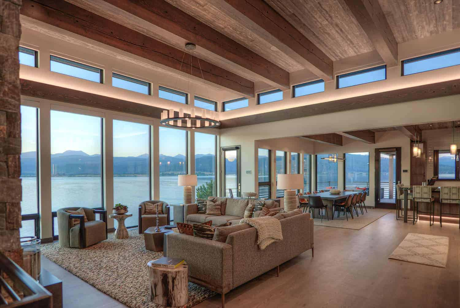 contemporary-lake-house-living-room