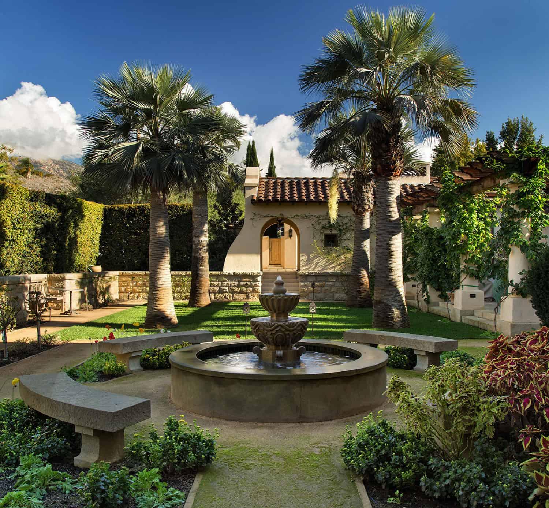 mediterranean-landscape-and-fountain