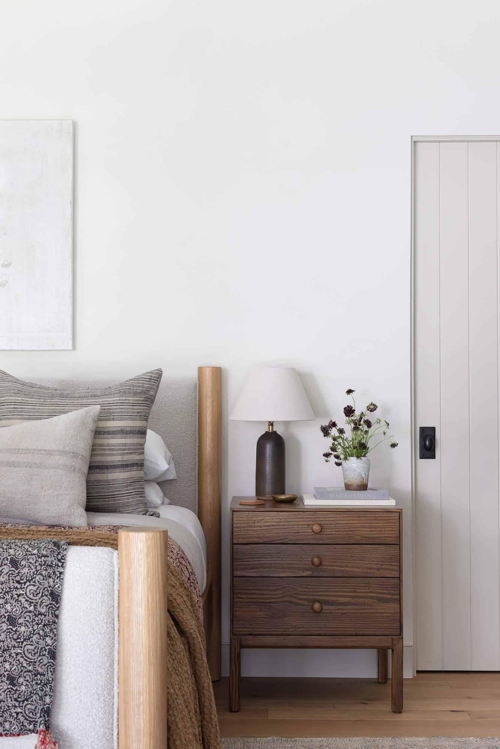 spavaća soba u stilu zapadne obale