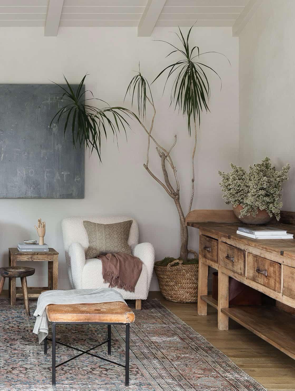 obiteljska soba u stilu zapadne obale