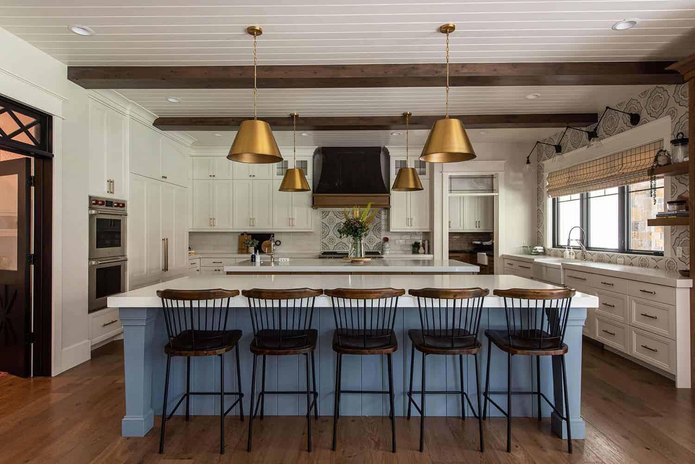 luksuzna seoska kuća u stilu kuhinje
