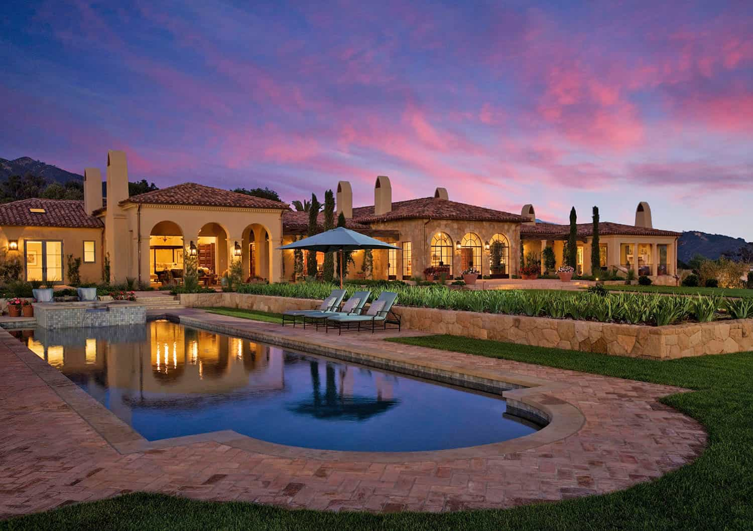 Mediterranean hilltop estate offers inviting luxury in Santa Barbara