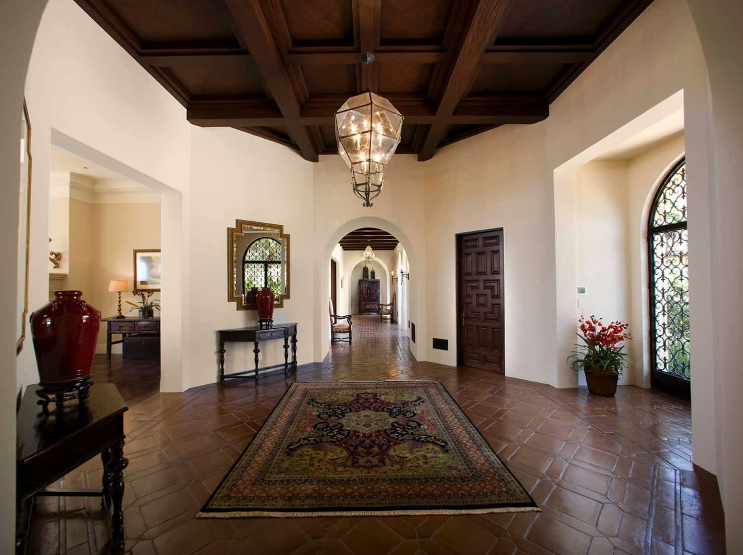 mediterranean-style-entryway-and-hall