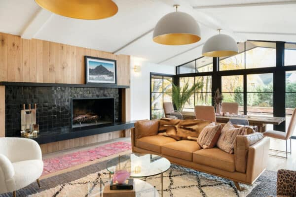 featured posts image for Midcentury split-level home gets a bohemian-chic makeover in Minnesota