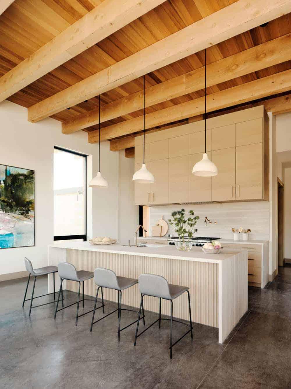 moderna kuhinja u stilu plaže