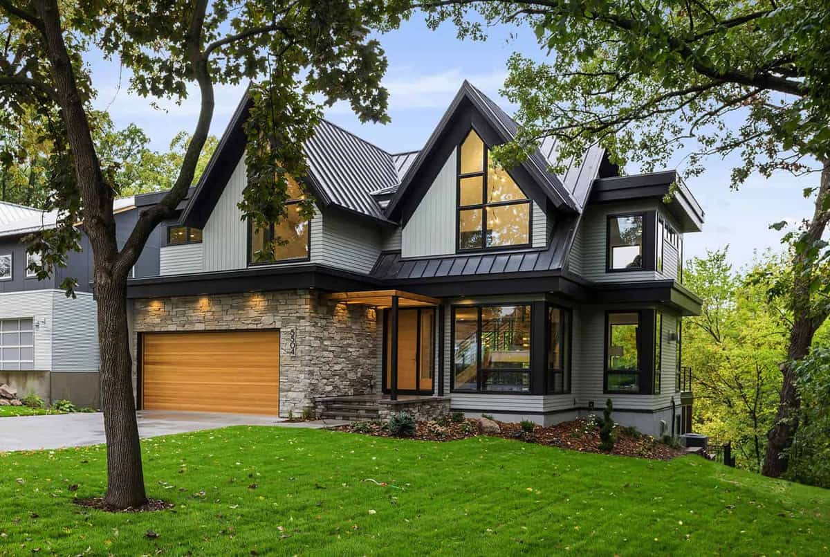 Tour this warm and stylish Minnesota home with energy efficient design