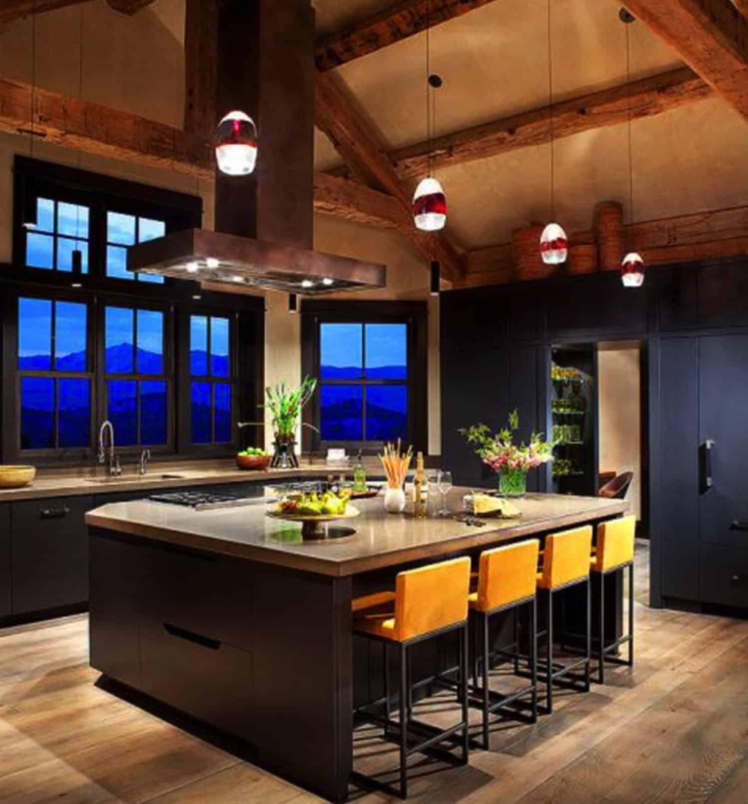 moderna-rustikalna-kuhinja u stilu ranča