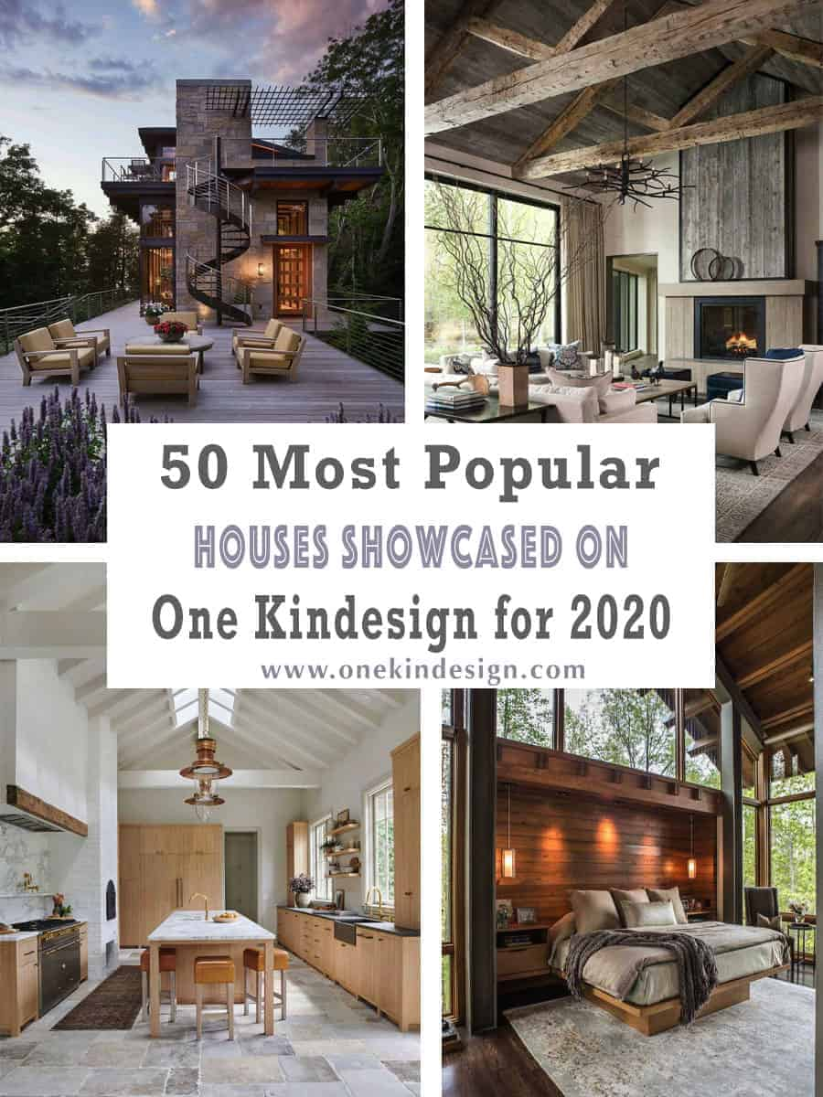 50 Most Popular Houses Showcased on One Kindesign for 2020