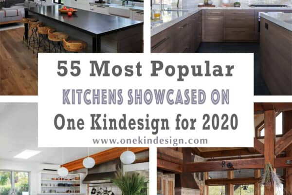 featured posts image for 55 Most Popular Kitchens Showcased on One Kindesign for 2020