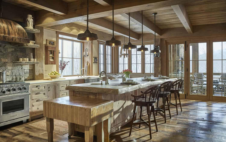 rustikalno-ručno izrađena kuhinja